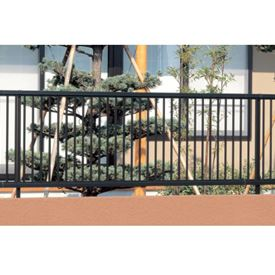 三協アルミ スーパー速川3型 フェンス本体 フリー支柱タイプ 2008 『アルミフェンス 柵 高さ H800mm用』