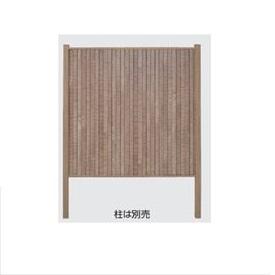 タカショー 人工竹垣材料 エバーなぐり板塀ユニット(H1850タイプ) 両面 W1750×H1850mm 『エバーバンブーボード ガーデニングDIY部材』