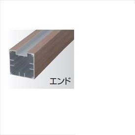タカショー 人工竹垣材料 なぐり板塀ユニット用柱 H1130用 エンド 75×75×L1570mm 『エバーバンブーボード ガーデニングDIY部材』