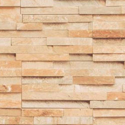 タカショー エバーアートボード 石柄 W1820×H910×t3(mm) 『外構DIY部品』 ランダムストーン ブラウン