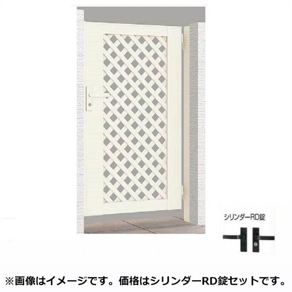 リクシル TOEX ライシス門扉11型 柱仕様 09-10 片開き