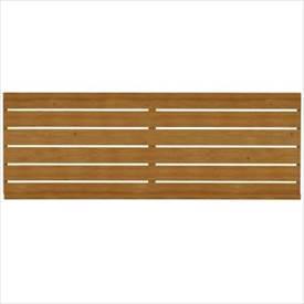 タカショー エバーアートフェンス 横板貼 2008 フェンス本体(1枚) 『アルミフェンス 柵』 ナチュラルパイン