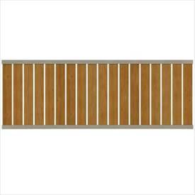 タカショー エバーアートフェンス e-縦板貼 2010 フェンス本体(1枚) 『アルミフェンス 柵』 ナチュラルパイン