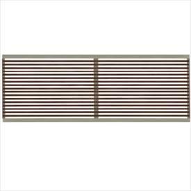 タカショー エバーアートフェンス e-すだれ細格子 2006 フェンス本体(1枚) 『アルミフェンス 柵』 ダークパイン