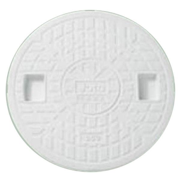 城東テクノ 丸マス蓋 300型/防水タイプ Joto JM-300CW-WP 5枚入 『外構DIY部品』 ホワイト(JC)