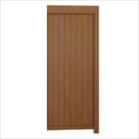 リクシル TOEX Gスクリーン 板塀タイプ 連結本体(基本本体が別途必要です) H24 W10 『アルミフェンス 柵』 木調カラー