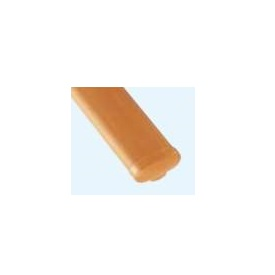 リクシル グリップライン 歩行補助手すり だ円手すり用 ビーム 中間ロング用 W2400 『LIXIL TOEX』 樹脂カラー
