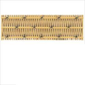 タカショー ユニットフェンスL型 大津垣フェンスL型(イエロー) H900 P-012 #22428900 『竹垣フェンス 柵』