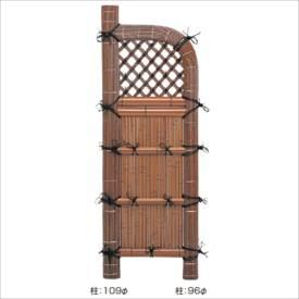 タカショー 合成竹製品 GO-91 合成竹巻すす竹玉袖垣 2.3尺/ W700×H1700 #10484000 『竹垣フェンス 柵』