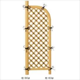 タカショー 合成竹製品 GO-35 合成竹格子袖垣 2.3尺/ W700×H1700 #10412300 『竹垣フェンス 柵』