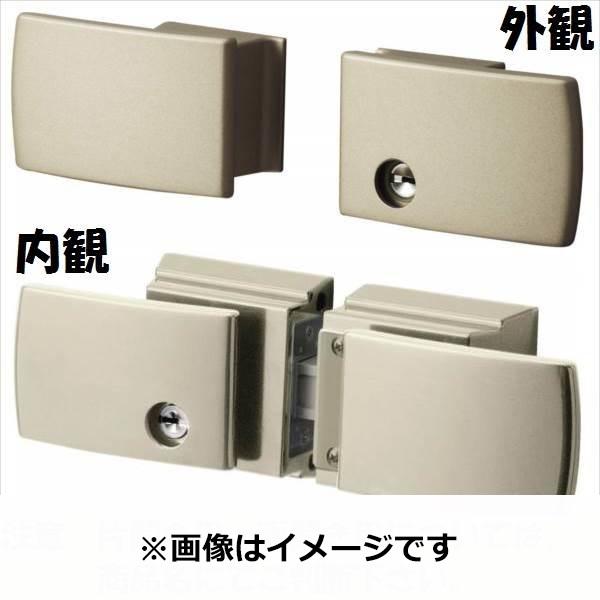 三協アルミ 形材門扉用 錠前 タッチ錠 両開き用 LXT-02 『単品購入価格』