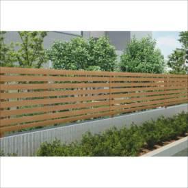 四国化成 アレグリアフェンス3型 本体 H600 AGF3-0620 『アルミフェンス 柵』 ライトブラウン