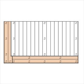 三協アルミ ひとと木2 オプション 2段デッキ(間口+出幅 「片側」) 束連結仕様 2.0間×8尺 『デッキ本体は別売です』 『ウッドデッキ 人工木』