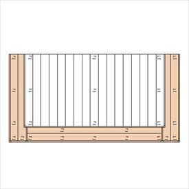 三協アルミ ひとと木2 オプション 2段デッキ(間口+出幅 「両側」) 束連結仕様 1.0間×8尺 『デッキ本体は別売です』 『ウッドデッキ 人工木』