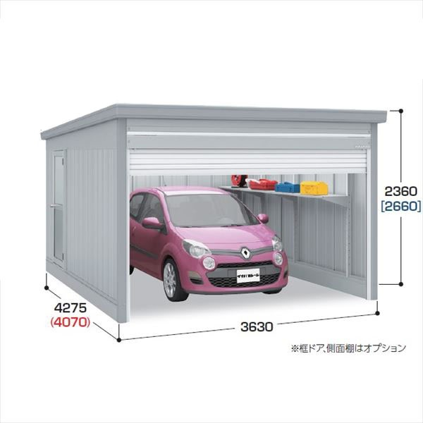 『配送は関東・東海限定』 イナバ物置 ガレーディア GRN-3642S 豪雪地型 『シャッター車庫 ガレージ』