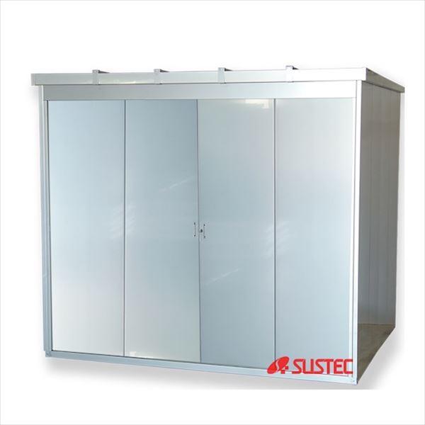 サステック オールステンレス製物置 M1-3080 完全受注生産品   『中型・大型物置 屋外 サビに強い』