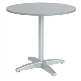 ユニソン テーブル&チェア ラウンドテーブル AU800 『ガーデンテーブル』 シルバー