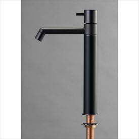 オンリーワン デザイン水栓/マニル ブラックめっき ロング TK4-1LKB マットブラック