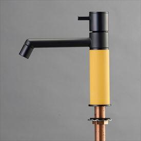 オンリーワン デザイン水栓/マニル ブラックめっき ノーマル TK4-1NKPG ポタージュ