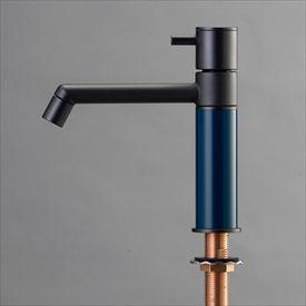 オンリーワン デザイン水栓/マニル ブラックめっき ノーマル TK4-1NKN ネイビー