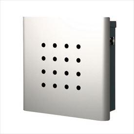 オンリーワン ヴァリオ ネオ スキン パンチ 壁掛けタイプ(T型カムロック付) NA1-OT02SI 『郵便ポスト』 シルバー