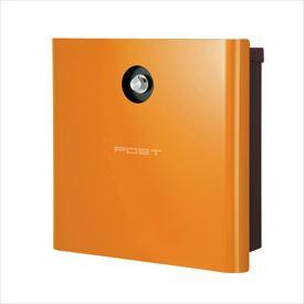 オンリーワン ヴァリオ ネオ グラフ フォント 壁掛けタイプ(ダイヤル錠付) NA1-OA05OR 『郵便ポスト』 オレンジ