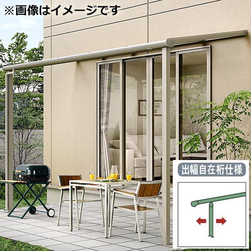 リクシル パワーアルファ テラスタイプ50cm(1500タイプ) 関東間 間口1.0間×出幅8尺 出幅自在桁仕様 F型 ポリカ屋根