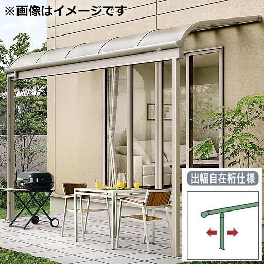 リクシル パワーアルファ テラスタイプ100cm(3000タイプ) 関東間 間口2.0間×出幅4尺 出幅自在桁仕様 RB型 ポリカ屋根