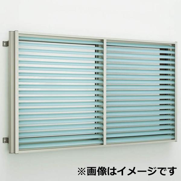 YKKAP 多機能ポリカルーバー 引違い窓用本体 たて隙間隠し付き 幅1420mm×高さ800mm 1MG-13307 上下同時可動 『取付金具は別売』