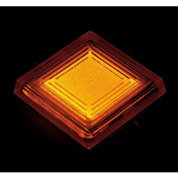タカショー タイルドライト(ローボルト) スタンダードカラー TLD-J03Y #48849000 *LED交換不可・別途レベル調整台が必要 『エクステリア照明 ライト』 LED色:黄