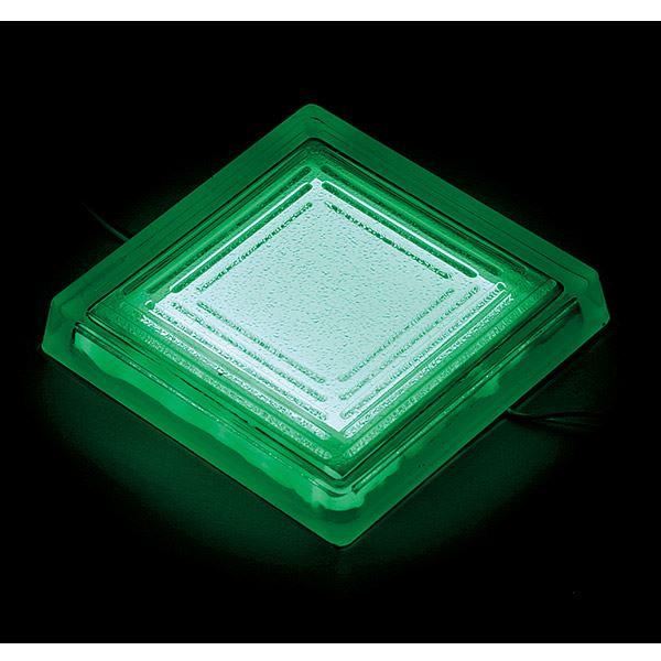 タカショー タイルドライト(ローボルト) スタンダードカラー TLD-J06G #48853700 *LED交換不可・別途レベル調整台が必要 『エクステリア照明 ライト』 LED色:緑
