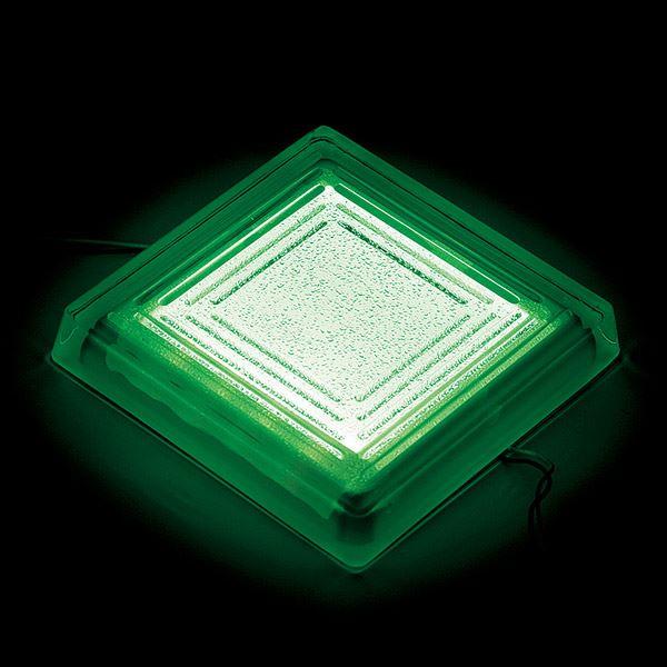 タカショー タイルドライト(ローボルト) パステルカラー TLD-J2PG #48857500 *LED交換不可・別途レベル調整台が必要 『エクステリア照明 ライト』 LED色:パステルグリーン