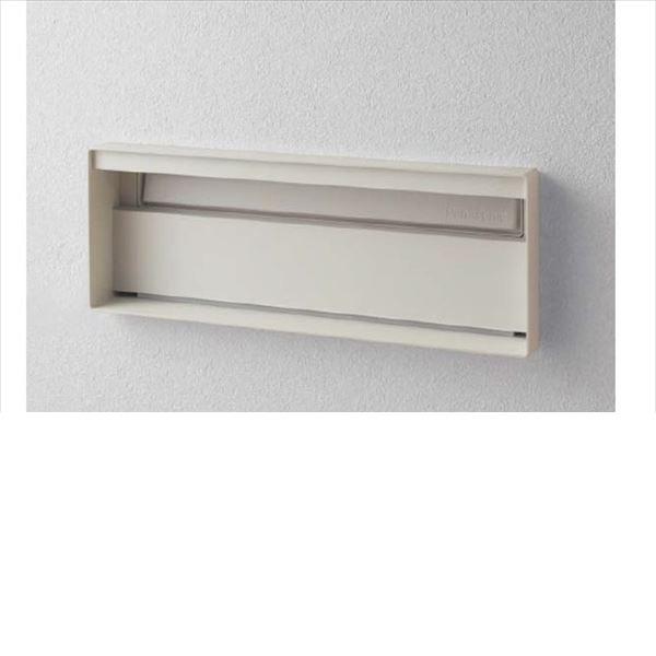 パナソニック ユニサス ブロックスリムタイプ 1Bサイズ CTCR7711WS ダイヤル錠 表札スペースのみ 『郵便ポスト』 漆喰ホワイト