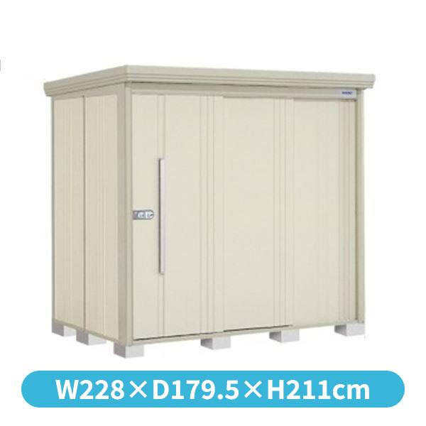 倉庫 ムーンホワイト タクボ物置 側面棚 屋外 ND-2215Y 中型 大型』 『収納庫 ND/ストックマン 一般型 『追加金額で工事可能』 標準屋根