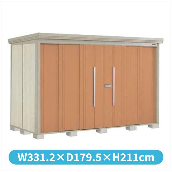 タクボ物置 ND/ストックマン 側面棚 ND-SZ3215Y 多雪型 結露減少屋根 『追加金額で工事も可能』 『屋外用中型・大型物置』 トロピカルオレンジ