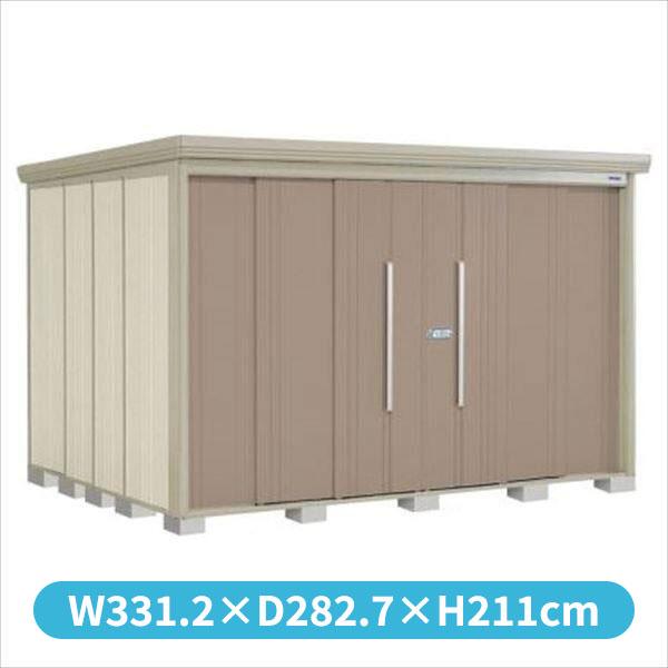 【驚きの値段】 タクボ物置 ND/ストックマン 側面棚 ND-S3226Y 多雪型 標準屋根 『追加金額で工事可能』 『収納庫 倉庫 屋外 中型 大型』 カーボンブラウン, B99 f39636ff