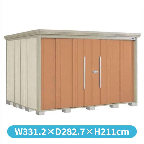 新入荷 タクボ物置 ND/ストックマン 側面棚 ND-S3226Y 多雪型 標準屋根 『追加金額で工事可能』 『収納庫 倉庫 屋外 中型 大型』 トロピカルオレンジ, 富山村 6b66f965