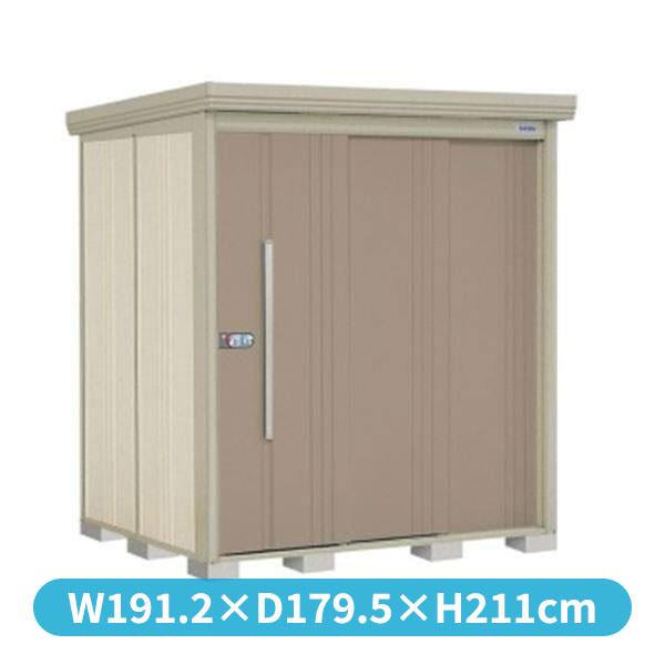 タクボ物置 ND/ストックマン 側面棚 ND-Z1815Y 一般型 結露減少屋根 『追加金額で工事可能』 『収納庫 倉庫 屋外 中型 大型』 カーボンブラウン