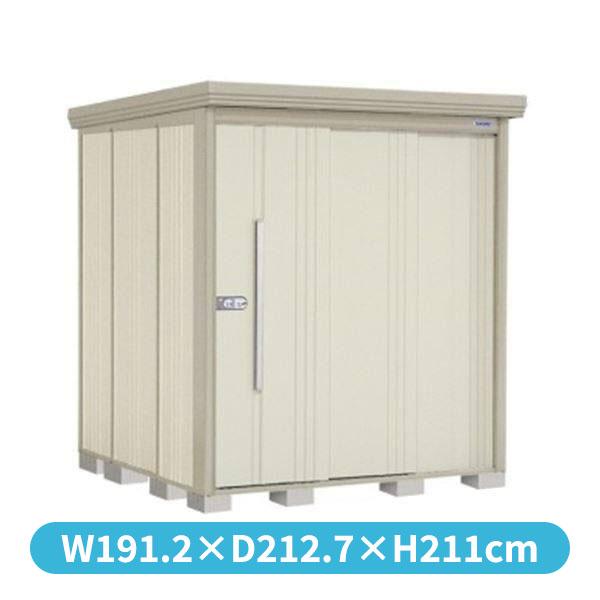 タクボ物置 ND/ストックマン 側面棚 ND-1819Y 一般型 標準屋根 『追加金額で工事も可能』 『屋外用中型・大型物置』 ムーンホワイト