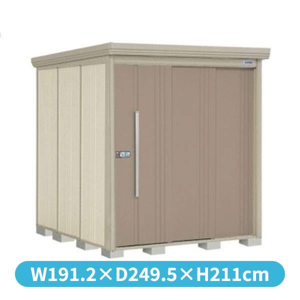 タクボ物置 ND/ストックマン 側面棚 ND-S1822Y 多雪型 標準屋根 『追加金額で工事も可能』 『屋外用中型・大型物置』 カーボンブラウン