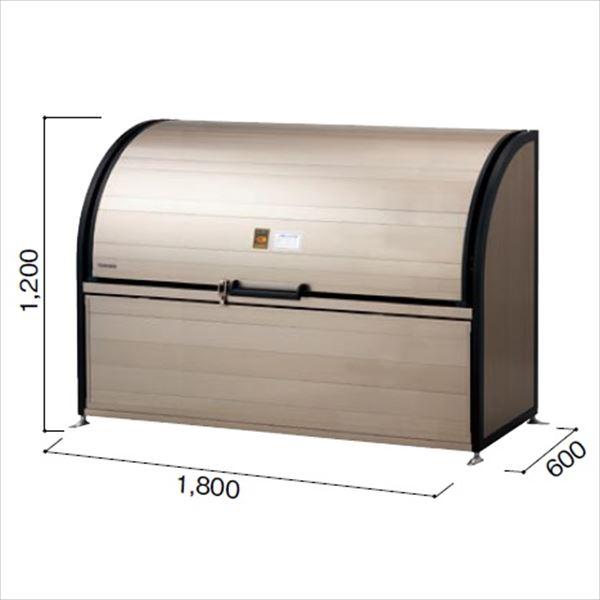 ヨドコウ ダストピット DPLA-1806 『ゴミ袋(45L)集積目安 19袋、世帯数目安 10世帯』 『追加金額で工事も可能』 『ダストボックス ゴミステーション 屋外』