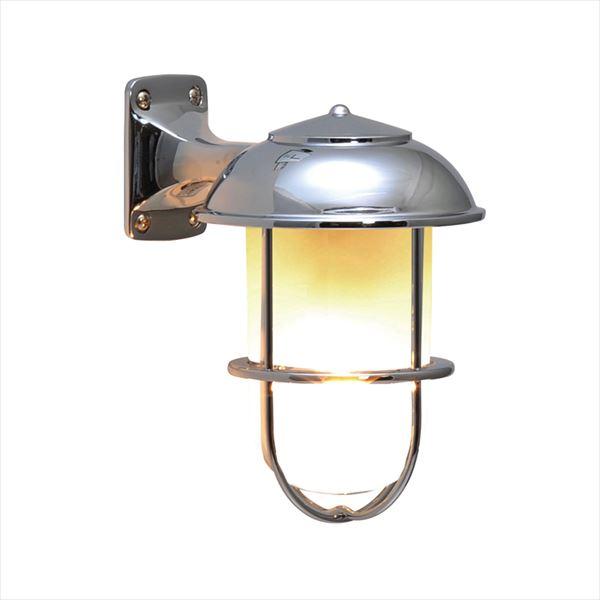 オンリーワン 真鍮製ポーチライト BR5000 CR FR LE くもりガラス クローム仕上 GI1-700232 『エクステリア照明 マリンライト』