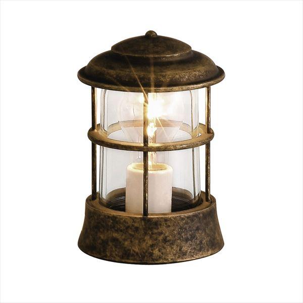 オンリーワン 真鍮製ガーデンライト BH1012 AN CL 古色仕上/クリアーガラス/白熱電球仕様 GI1-700143 『エクステリア照明 マリンライト』