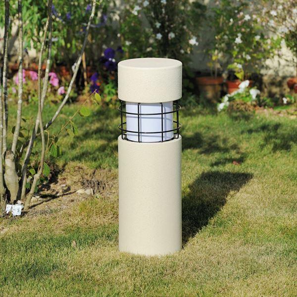 オンリーワン 新 信楽のあかり 円柱 白 (LED照明:電球色) GA1-LED32 『エクステリア照明 信楽焼ライト』