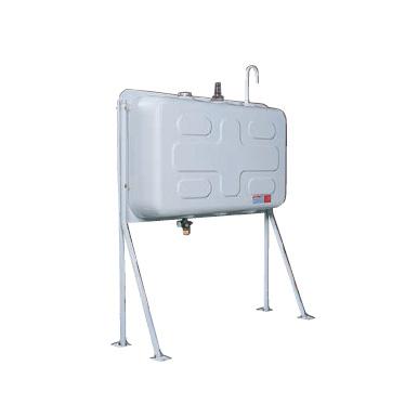 『個人宅配は不可』ダイケン ホームタンク250型(片面タイプ) HTK250VH型 2回路小出しセットC付 『屋外用灯油タンク』