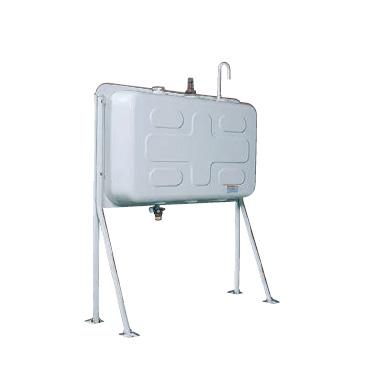 ダイケン ホームタンク195型(片面タイプ) HTK195VH型 2回路小出しセットC付 『屋外用灯油タンク』