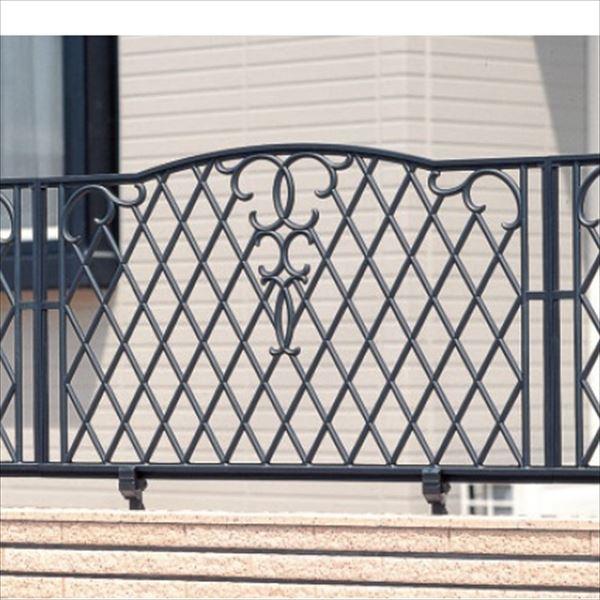 三協アルミ 鋳物フェンス ジョイラルA型 本体 1008 フリー支柱タイプ 『アルミフェンス 柵』