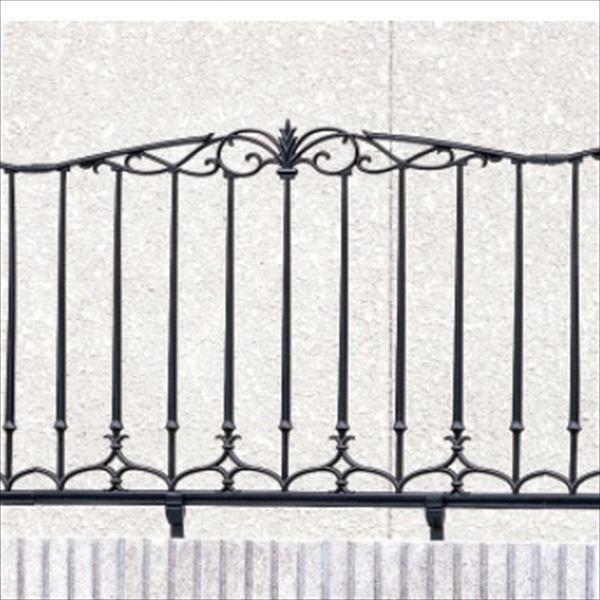 三協アルミ 鋳物フェンス ファンセル8型 本体 1008 フリー支柱タイプ 『アルミフェンス 柵』