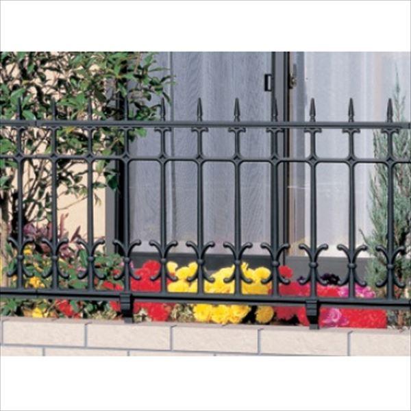 三協アルミ 鋳物フェンス キャスモア4型 本体 1008 フリー支柱タイプ 『アルミフェンス 柵』