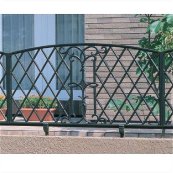 三協アルミ 鋳物フェンス キャスモア6型 本体 1006 フリー支柱タイプ 『アルミフェンス 柵』